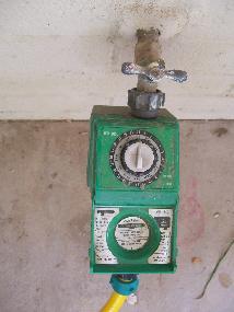 Basic water timer